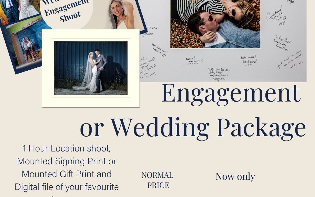 12 Days of Christmas – Day 7 – Engagement/Wedding Package